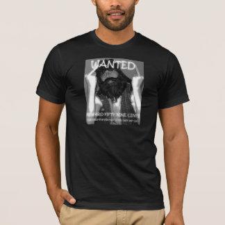 Basic Dark T-Shirt Chuck Wanted Poster