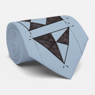 Basic Design Graphic Art Class Drawing Triangles Tie