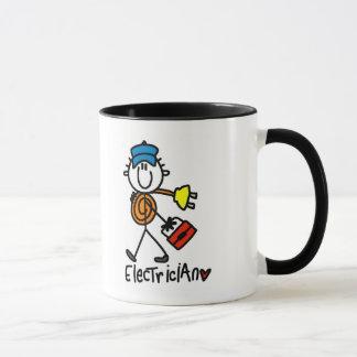 Basic Electrician Tshirts and Gifts Mug