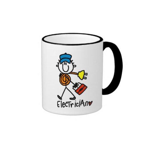 Basic Electrician Tshirts and Gifts Coffee Mug