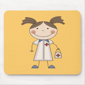 Basic Female EMT Tshirts and Gifts Mouse Pad