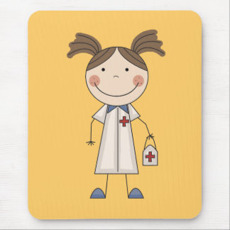 Basic Female EMT Tshirts and Gifts Mouse Pads