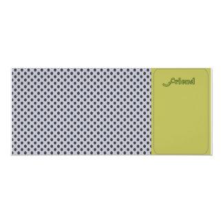 "Basic Folding Greeting Card Friend -Customizable 4"" X 9.25"" Invitation Card"