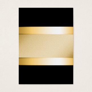 Basic gold on black