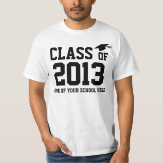 Basic Graduation Your Class Year Your School T-Shirt
