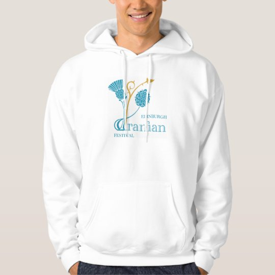 Basic Hooded Sweatshirt, White - EIF Design & Logo Hoodie