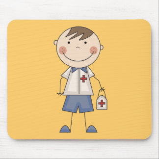 Basic Male EMT Tshirts and Gifts Mouse Mats