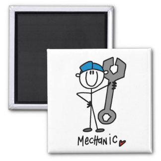 Basic Mechanic T-shirts and Gifts Magnet