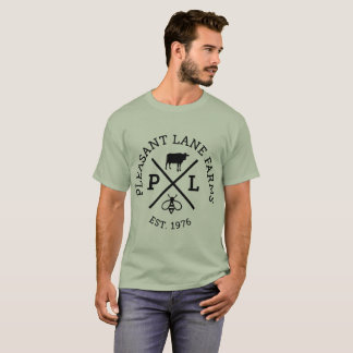 Basic Mens Pleasant Lane Farms T-Shirt