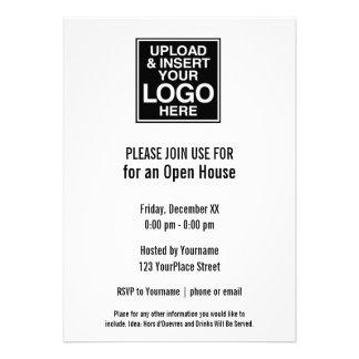 Basic Office or Business Logo Invites