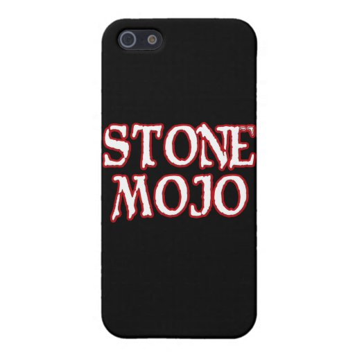 Basic Official Stone Mojo Logo Case For iPhone 5