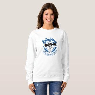 Basic poly/cotton sweatshirt w/large logo