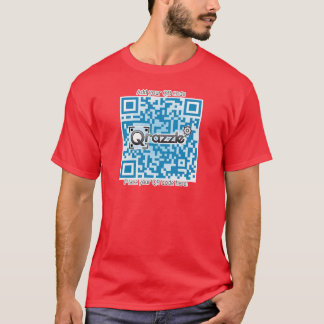 Basic QR code shirt