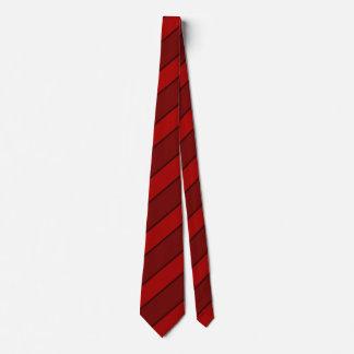 Basic Red Stripe Tie