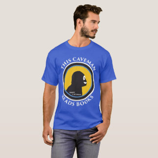 Basic Short Sleeve T-Shirt: Read Smart Caveman T-Shirt
