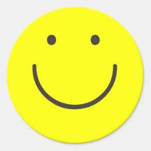 Basic Smiley Sticker