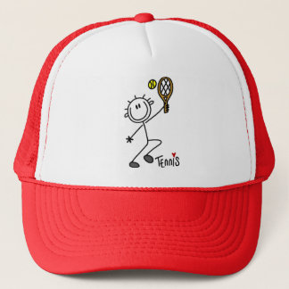 Basic Stick Figure Tennis Tshirts and Gifts Cap