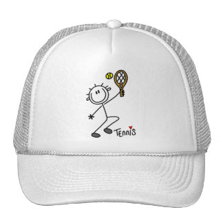 Basic Stick Figure Tennis Tshirts and Gifts Hats