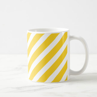 Basic Stripe 1 Freesia Basic White Mug