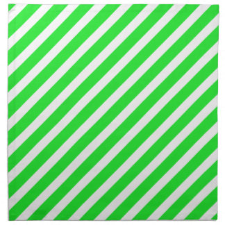 Basic Stripe 1 Green Napkin