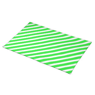 Basic Stripe 1 Green Placemat