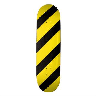 Basic Stripe 1 Yellow Skate Board Decks