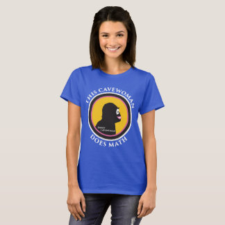 Basic T-Shirt: Math Smart Cavewoman T-Shirt