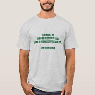 basic t-shirt men in geek epigram