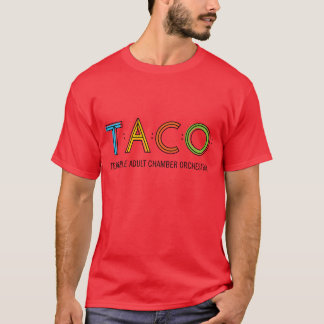 Basic TACO T-Shirt, Red T-Shirt