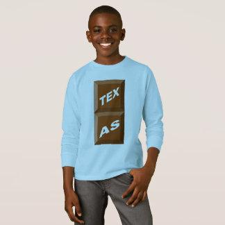 BASIC TEE-SHIRT BLUE SKY TEXAS    CHOCOLATE T-Shirt