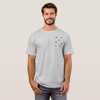 """Basic tee-shirt clearly """"Poop """" T-Shirt"""