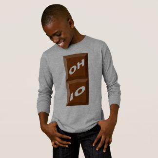 BASIC TEE-SHIRT HEATHER OHIO CHOCOLATE T-Shirt