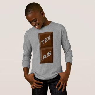BASIC TEE-SHIRT HEATHER   TEXAS CHOCOLATE T-Shirt