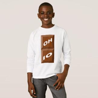 BASIC TEE-SHIRT   WHITE OHIO CHOCOLATE T-Shirt