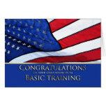 Basic Training Graduation Congratulations- America Greeting Card