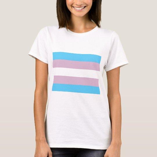 Basic Transgender Flag T-Shirt