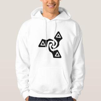 Basic Tri Arrows (black) Hoodie
