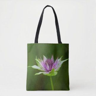 Basil Bee Balm Bergamot Wildflower Tote Bag