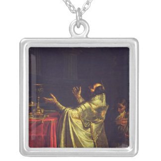 Basil the Great, 1811-12 Silver Plated Necklace