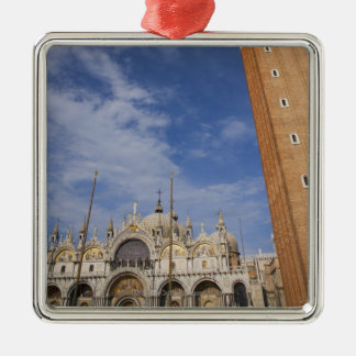 Basilica and Bell Tower St Mark's Square Venice Christmas Ornament