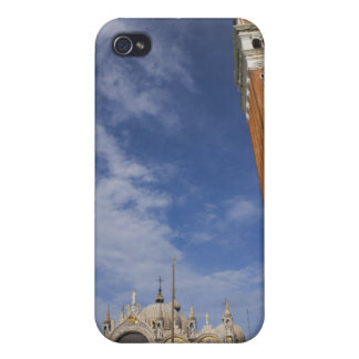 Basilica and Bell Tower St Mark's Square Venice Cover For iPhone 4