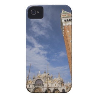 Basilica and Bell Tower St Mark's Square Venice iPhone 4 Covers