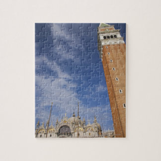 Basilica and Bell Tower St Mark's Square Venice Jigsaw Puzzle