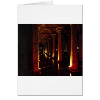 Basilica Cistern 3 Greeting Card
