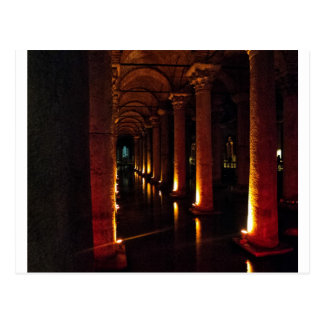 Basilica Cistern 3 Postcard