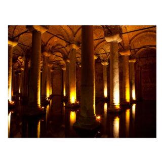 Basilica cistern Istanbul Postcard