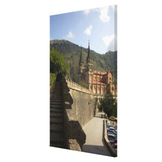 Basilica de Covadonga, northwestern Spain. Canvas Print