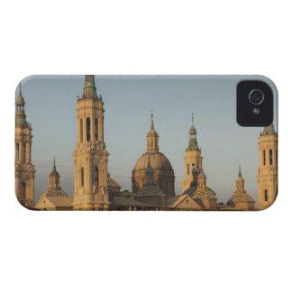 Basilica de Nuestra Senora de Pilar, Ebro River Case-Mate iPhone 4 Cases