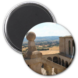 Basilica di San Francesco 6 Cm Round Magnet