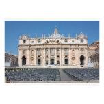 Basilica di San Pietro, Vatican City, Rome, Italy Personalized Invitations